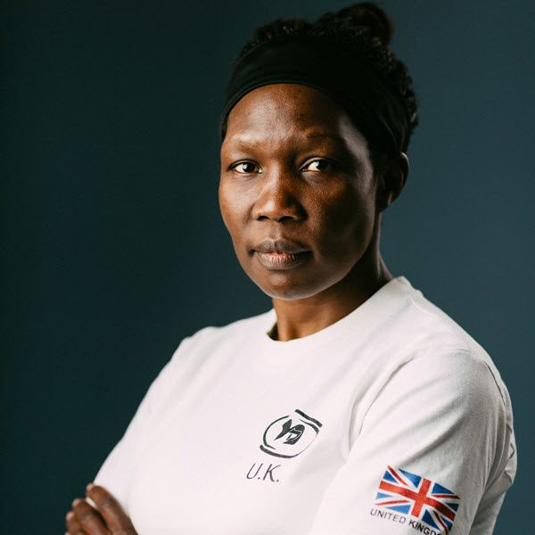 Krav Maga Instructor Lillian Auma - Krav Maga Self Defence London (Brixton, Tulse Hill, Gipsy Hill, Hoxton, City)